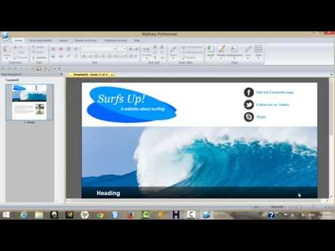 How To Build A Website Using WebEasy Professional 10