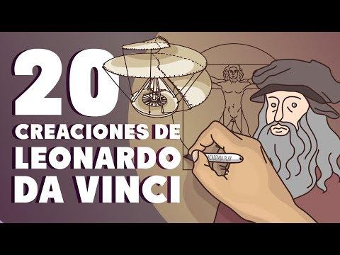 20 creaciones de Leonardo da Vinci