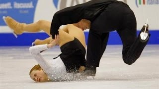 Video Worst of Figure Skating Couple Falls download MP3, 3GP, MP4, WEBM, AVI, FLV November 2017