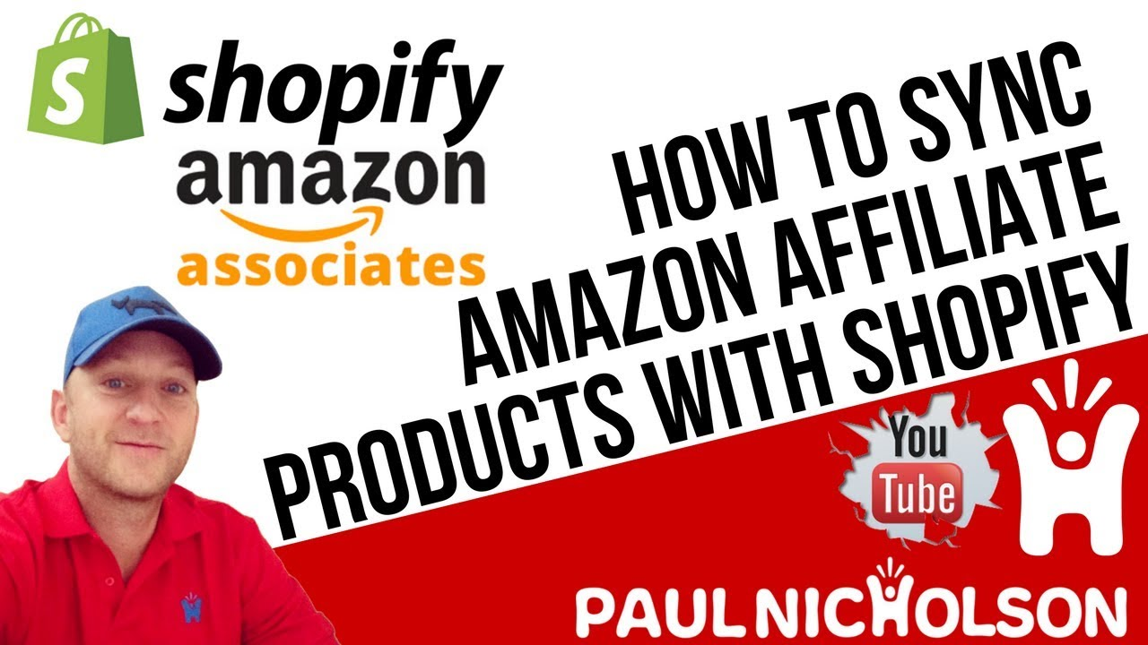 b44c080fe How To Sync Amazon Affiliate Products With Your Shopify Store Using The  Spreadr App