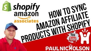 How To Sync Amazon Affiliate Products With Your Shopify Store Using The Spreadr App