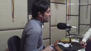 Rj Salman Afridi and Rj Siddiq Safi in prog staso farmaish from Radio khyber fm91 friday 7pm