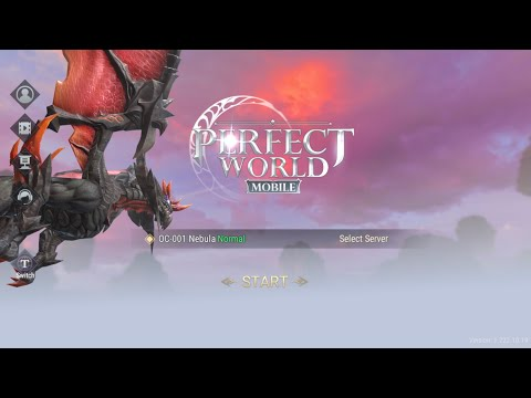Perfect World Mobile Android/ios Ep1 (MMORPG Classic Perfect World Has Returned With HD Graphic)