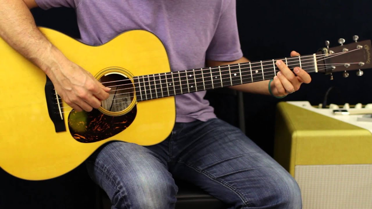 rks bentley 5 1 5 0 how to play acoustic guitar lesson