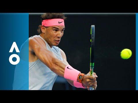Rafael Nadal v Damir Dzumhur match highlights (3R) | Australian Open 2018