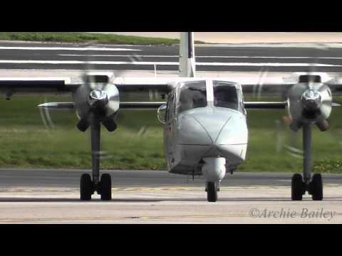 Repeat LerwickTingwall Airport landing, Shetland Islands