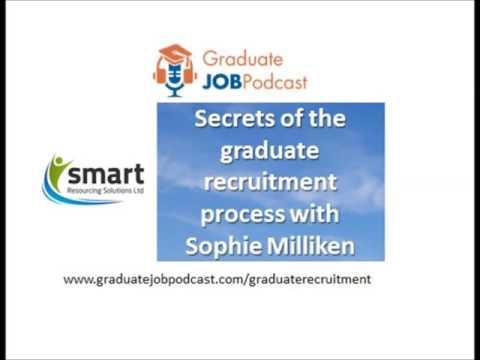 Secrets of the graduate recruitment process with Sophie Milliken - #60 GJP