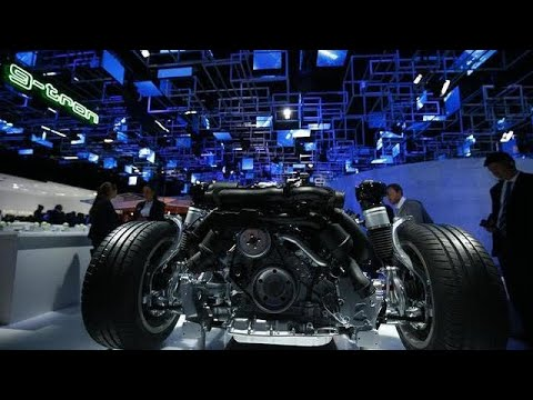 Electric cars headline the Frankfurt International Motor Show