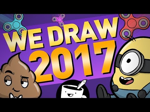 Artists Sum Up 2017 With a Drawing (ft. Josh Gondelman)