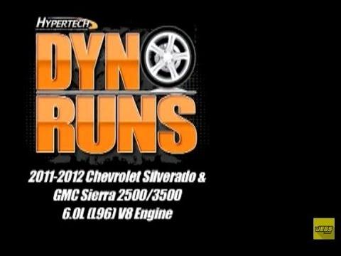 2011-2012 Chevy Silverado GMC Sierra 2500 3500 6.0 Performance Programmer Dyno Hypertech 32501