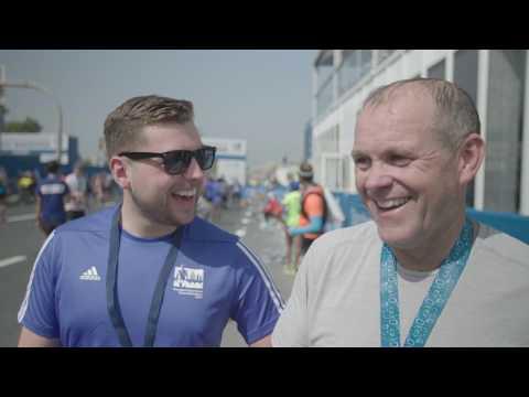Jet-Set Geordies Complete Standard Chartered Dubai Marathon