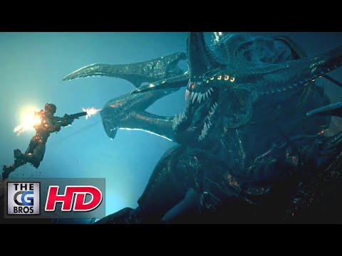 """CGI 3D Animated Trailers: """"Starship Troopers Title Sequence"""" - by Mondlicht Studios   TheCGBros"""