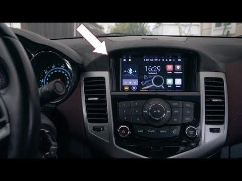 Aftermarket Chevy Cruze Head Unit Touchscreen