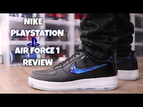 NIKE PLAYSTATION AIR FORCE ONE REVIEW! | A SNEAKER LIFE