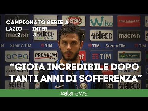 """Lazio-Inter, Ranocchia: """"Adesso iniziamo ciclo importante"""""""