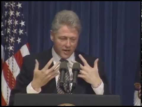President Clinton's Remarks to the White House Community Empowerment Conf. (1995)