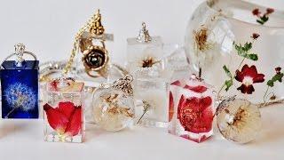 #1 HOW TO CREATE RESIN ORB, CROSS, RING WITH REAL FLOWERS. PART-1