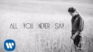 Repeat youtube video Birdy - All You Never Say [Official Lyric Video]