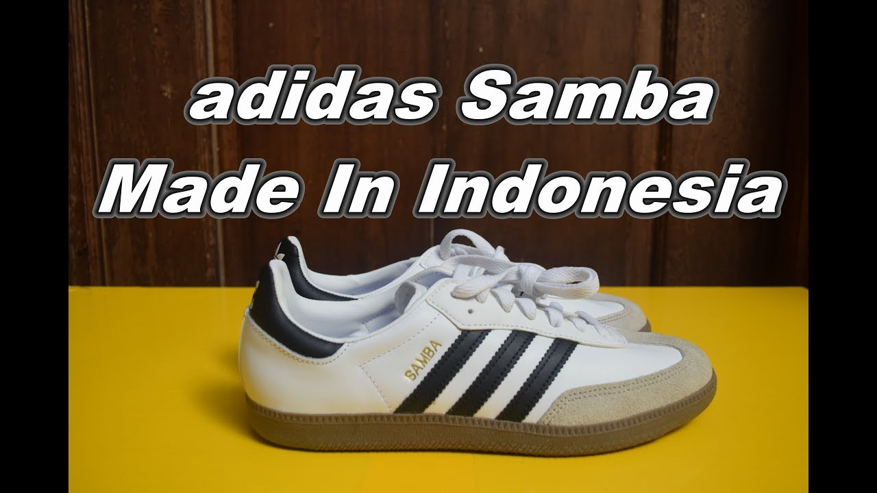01f490dcd3c Unboxing - adidas Samba (Made In Indonesia) | EK18VLOG#44