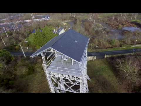 Trelaze Les Ardoisieres Drone Video
