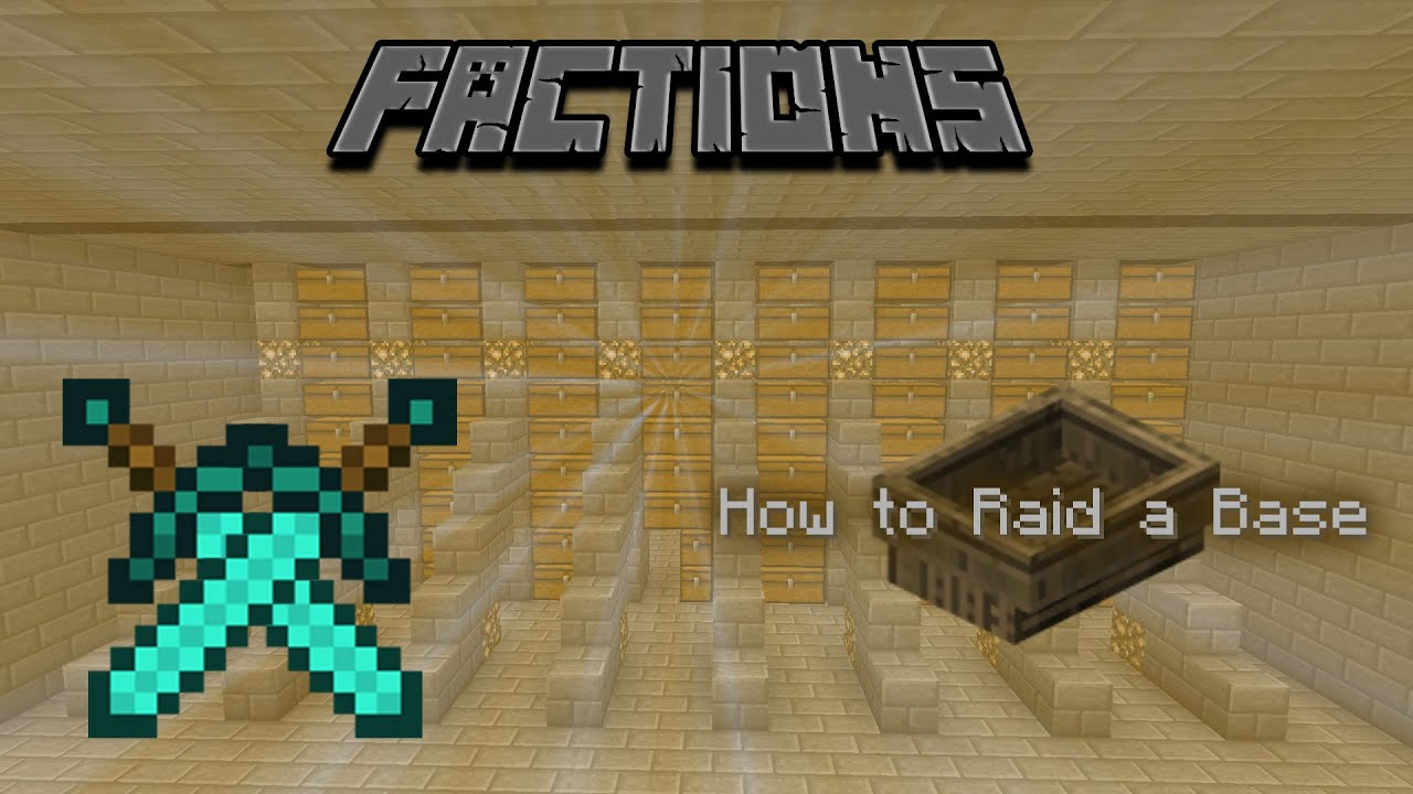 minecraft factions how to find bases