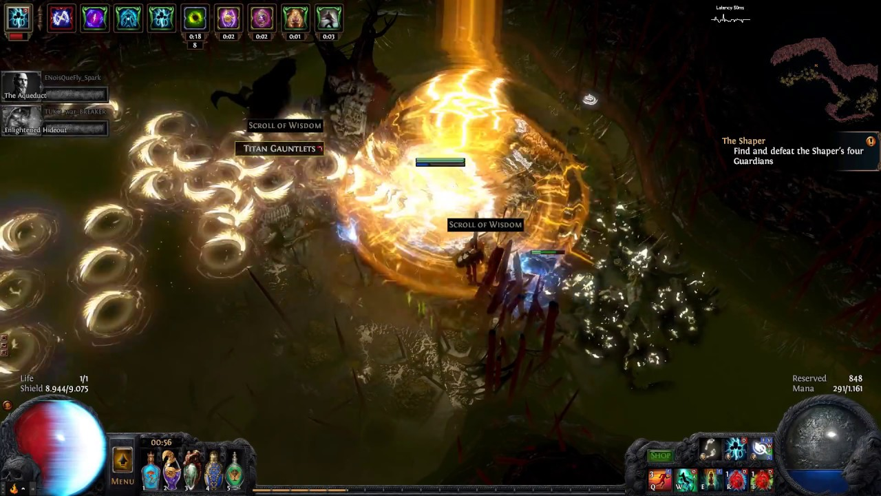 Spectral Throw Ci Build