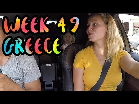 Road Trip Across Greece with Kids!! From Costa Navarino to Athens /// WEEK 49 : Greece
