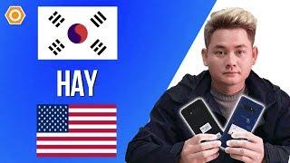 Tips Samsung #1: Nên chọn bản Mỹ hay cố thêm một tý mua bản Hàn?
