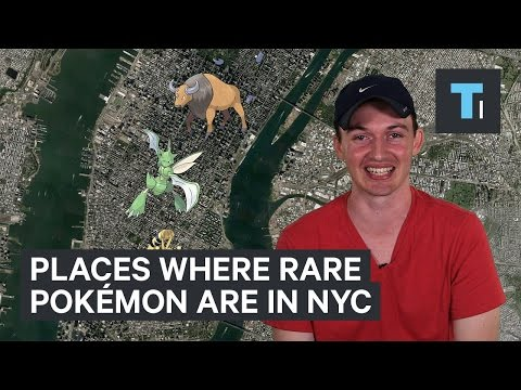 Best places to find rare Pokémon in New York
