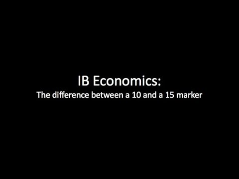 IB Economics Paper 1 Tips - How To Do Long Answer Questions