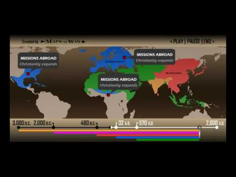 history of religion geography of faith and war