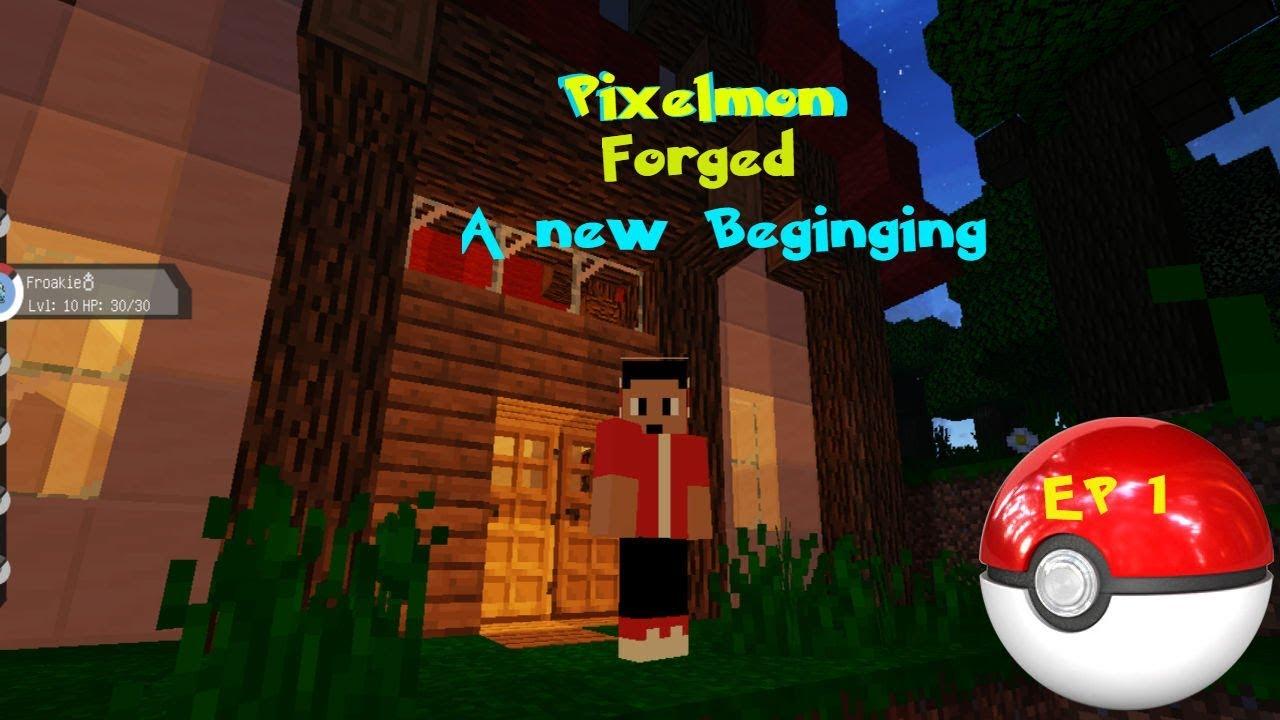 Pixelmon Reforged Episode 1 (A new beginning)