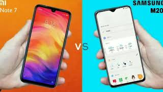Samsung Galaxy M20 Vs Redmi Note 7 Full Comparison
