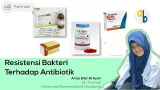 Resistensi antibiotik adalah kondisi dimana bakteri dapat bertahan hidup dari serangan antibiotik. H.