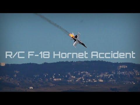 Cerdanya Jets 2018  - F-18 Tragic Accident (R/C) - HD 50fps