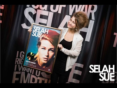 Selah Sue plays concert for Pure Fm (AB, April 4th 2015) + Gold for 'Reason'