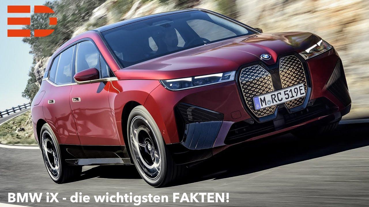 2021 BMW iX Abmessungen Leistung Fakten Infos Design ...