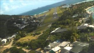 Union Island Airport Landing - TVSU - 2011