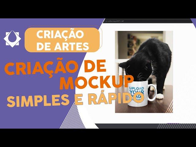 CRIAÇÃO DE MOCKUP - Simples e Rápido – Place it