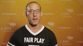David Garcia-Rosen at the LA84 Summit on athlete activism