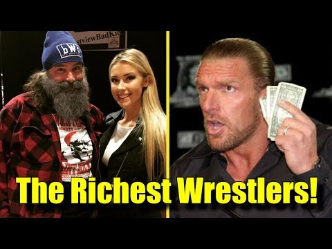 10 of the RICHEST Wrestlers in WWE! (2018)