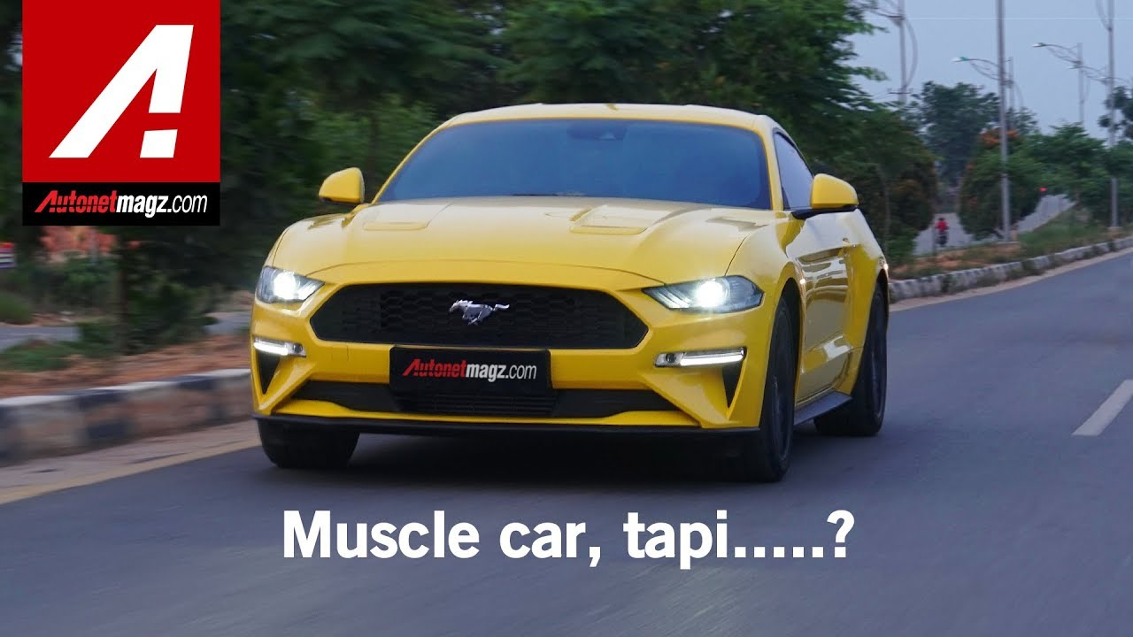 Ford mustang ecoboost review test drive by autonetmagz