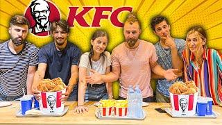 KFC-ის ქათმის ჩელენჯი @GD Squad თან – ვინ გაიმარჯვა?