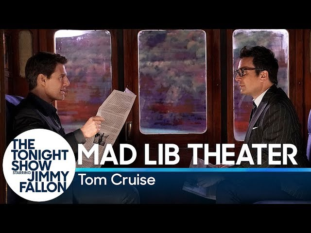 WATCH: Tom Cruise Plays Mad Libs with Jimmy Fallon | PEOPLE com