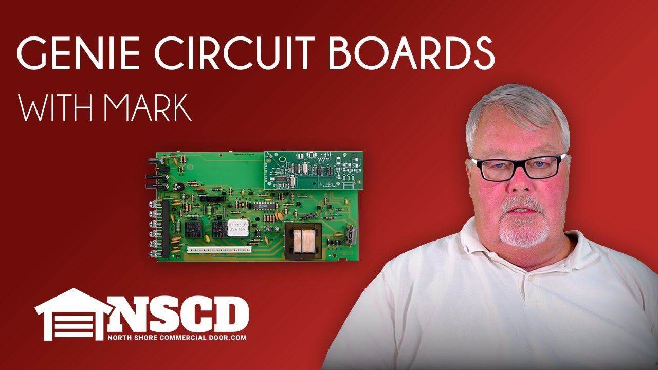 Tech Talks Genie Circuit Boards Youtube Door Opener Remote Control Board From Reliable