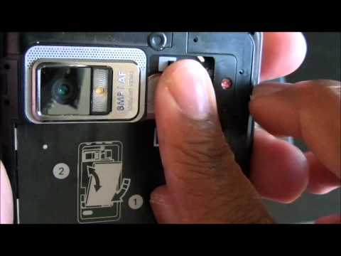 How to remove the Droid Bionic Battery