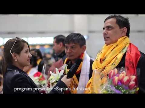 Incheon airport welcomes nepali artists