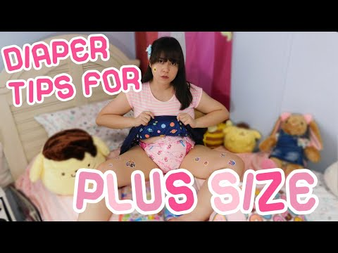Diaper Tips For Plus Size Ageplayers/ABDLs♥