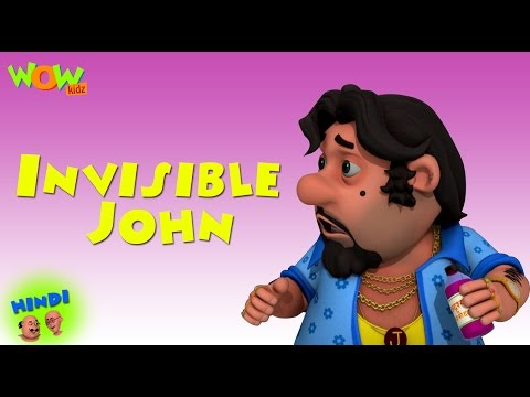 Invisible John - Motu Patlu in Hindi WITH ENGLISH, SPANISH & FRENCH SUBTITLES thumbnail