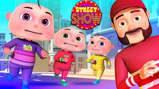Street Show Episode | Zool Babies Series |Cartoon Animation For Children | Catching Thief Kids Shows
